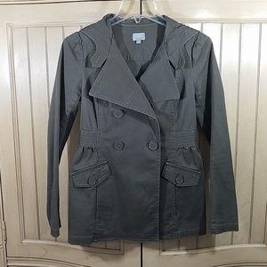 Rubbish Army Green Jacket, sz S